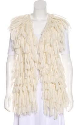 Roche St. Textured Knit Vest