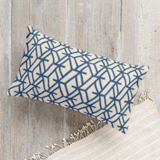 Plinth Self-Launch Lumbar Pillows