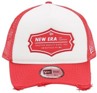 New Era Ne Patch Trucker Hat