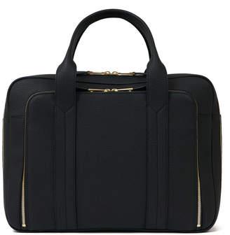 Volition Tyler - Leather Overnight Bag Black