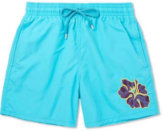 Vilebrequin Moorea Mid-Length Appliquéd Swim Shorts