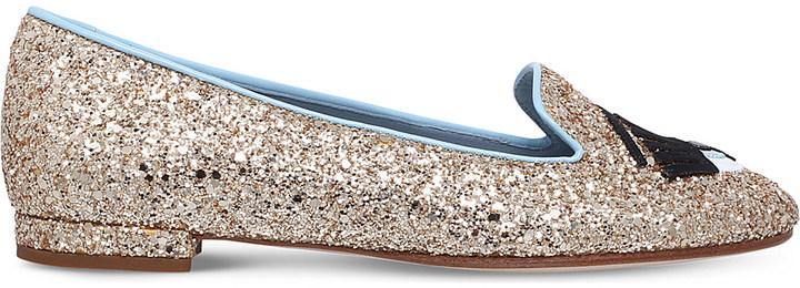 Chiara FerragniChiara Ferragni Flirting key slipper flats