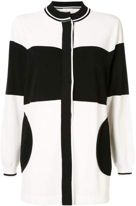Anteprima colour block cardi-coat