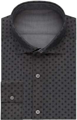 Van Heusen Men's Flip-It Slim Fit Reversible Dress Shirt