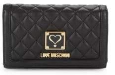 Love Moschino Logo Continental Wallet