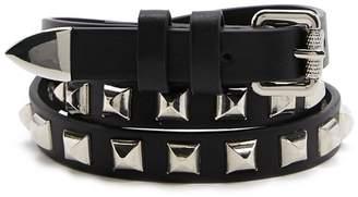 Forever 21 Studded Skinny Belt