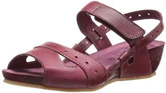 Miz Mooz Women's Bruna Wedge Sandal