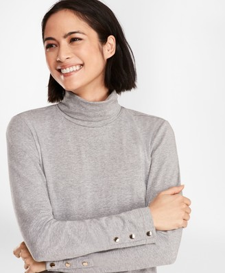 Brooks Brothers Long-Sleeve Turtleneck T-Shirt