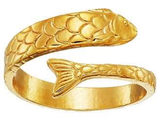 Alex and Ani Fish Wrap Ring