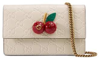 Gucci Signature mini bag with cherries