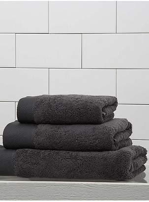 Frette Diamond Border Egyptian Cotton Hand Towel