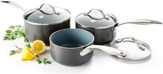 Green Pan Venice 3 Piece Saucepan Set