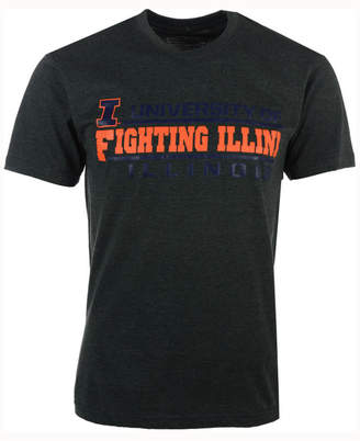 Colosseum Men's Illinois Fighting Illini Verbiage Stack T-Shirt