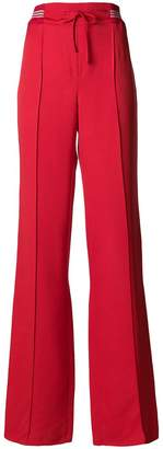 Valentino flared fitted trousers