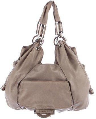 MICHAEL Michael KorsMichael Kors Embellished Leather Shoulder Bag