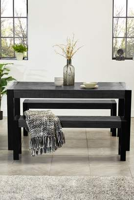 Next Hudson Dinning Table And Bench Set