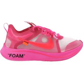 Nike x Off-White Zoom Fly Pink Rubber Trainers