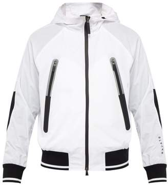 BLACKBARRETT by NEIL BARRETT Hooded Zip Up Track Jacket - Mens - White