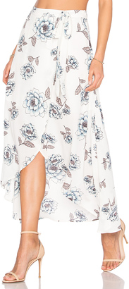 J.O.A. Wrap Skirt $77 thestylecure.com