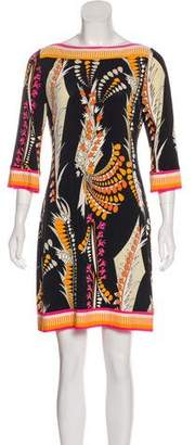 Ali Ro Printed Mini Dress