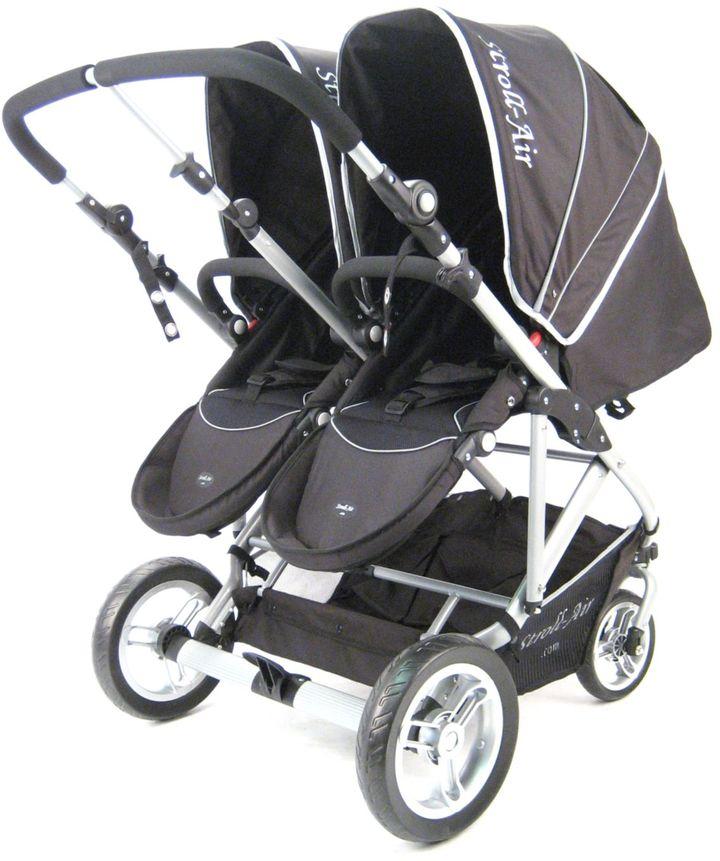 Bed Bath & Beyond Stroll-Air My Duo Stroller in Black