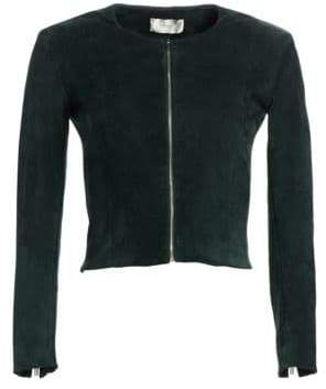 The Row Stanta Suede-Blend Jacket