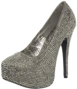 Pleaser USA Women's Teeze 06R GYSA PWRS Platform Pump