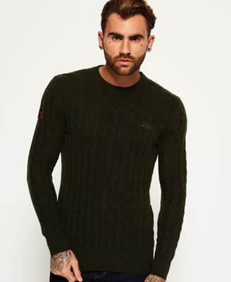 Superdry Harlo Cable Crew Neck