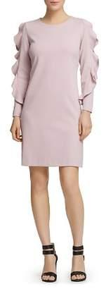 Donna Karan Ruffle-Trimmed Dress