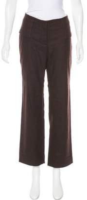 CNC Costume National Wool-Blend Mid-Rise Pants