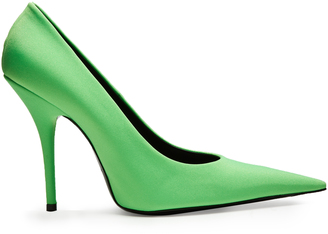 BALENCIAGA Knife extreme point-toe pumps $695 thestylecure.com