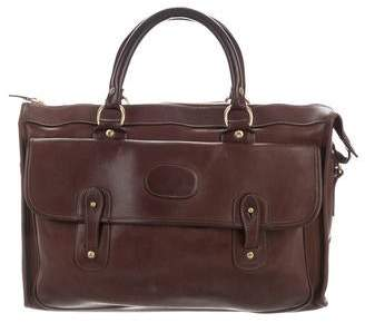 Ghurka Large Leather Satchel