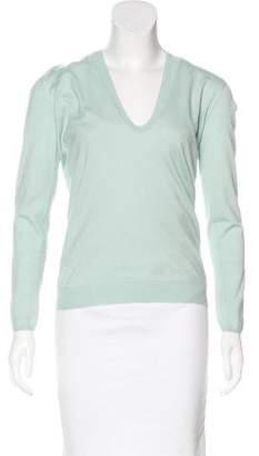 Brunello Cucinelli Cashmere & Silk Long Sleeve Sweater