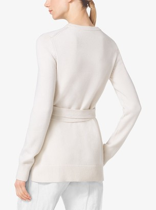 Michael Kors Belted Cashmere Sweater