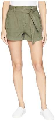 Splendid Twill Belted Shorts Women's Shorts