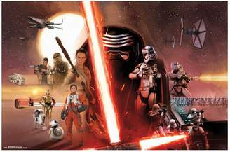 Art.com Star Wars: Episode VII The Force Awakens Group Poster by