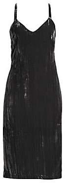 Splendid Women's Velvet Shift Dress