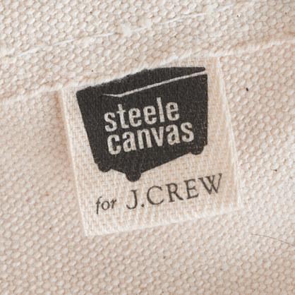 J.Crew Steele Canvas Basket Corp.TM for coal bag