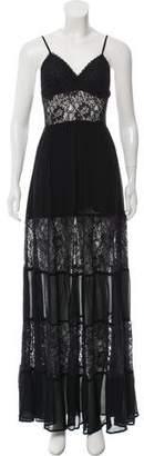 Reformation Semi-Sheer Lace Maxi Dress w/ Tags