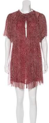 Isabel Marant Silk Crepe Dress