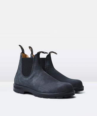 Blundstone 587 Elastic Side Boot Rustic Black