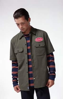 Von Dutch Mechanic Short Sleeve Button Up Shirt