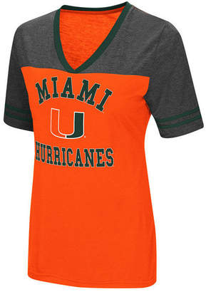 Colosseum Women's Miami Hurricanes Whole Package T-Shirt