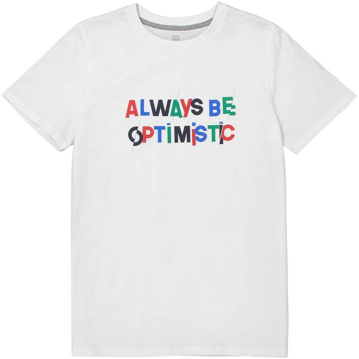 La Redoute Collections Printed Crew Neck T-Shirt, 10-16 Years