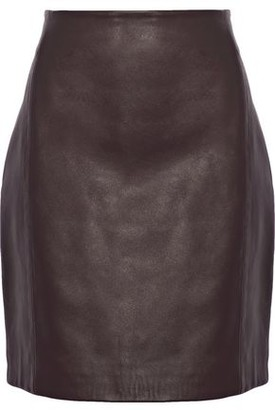 IRO Donkin Leather Mini Skirt