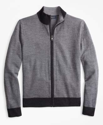 Mens Wool Full Zip Sweater Shopstyle