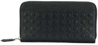 Salvatore Ferragamo Gancio embossed wallet