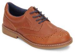 Boy's Leather Oxfords $65 thestylecure.com