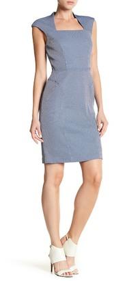 Adrianna Papell Bolero Neckline Sheath Dress (Regular, Petite, & Plus Size) $120 thestylecure.com