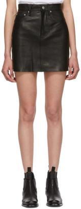 Helmut Lang Black Femme Hi Miniskirt